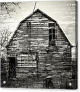 Canadian Barn Acrylic Print