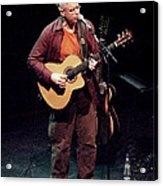 Canadian Folk Rocker Bruce Cockburn In 2002 Acrylic Print