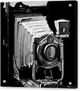 Canadian Kodak Black And White Camera Acrylic Print