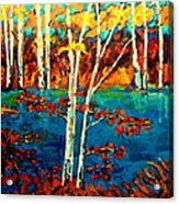 Canadian  Landscape Artist Carole Spandau Acrylic Print
