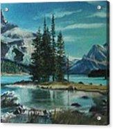 Canadian Landscape  Acrylic Print