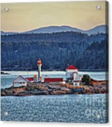 Canadian Lighthouses Sc3415-13 Acrylic Print