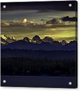 Canadian Montain Acrylic Print by Blanca Braun