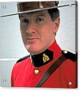 Canadian Mounted Police Acrylic Print