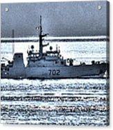 Canadian Navy Nanaimo M M702 Acrylic Print