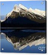 Canadian Rockies Mount Rundle 1 Acrylic Print