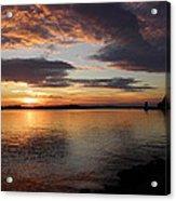 Canadian Sunset Acrylic Print
