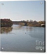 Canal Crossing Acrylic Print