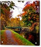 Canal Dream Acrylic Print