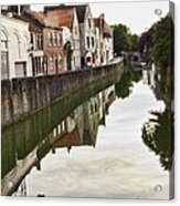 Canal Reflection  Acrylic Print