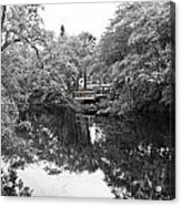 Canal Reflections 9 Acrylic Print