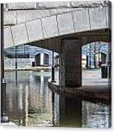 Canal Walk Acrylic Print