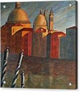 Canale Grande Venice Acrylic Print