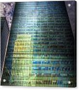Canary Wharf Reflections Acrylic Print