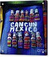 Cancun Souvenirs Mexico Acrylic Print
