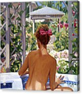 Candace Being Candlish On Canvas Acrylic Print