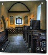 Candle Church Acrylic Print