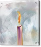 Candle In The Morning Acrylic Print