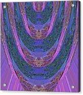 Candle Stick Art Magic Graphic Patterns Navinjoshi Signature Style Art      Acrylic Print