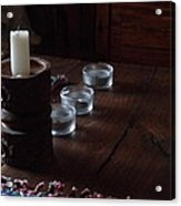 Candles In The Morning Acrylic Print
