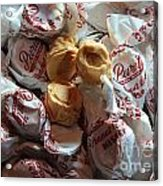 Candy - Peanut Butter Kisses - Sweets Acrylic Print