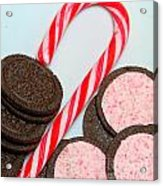 Candy Cane -  Cookies - Sweets Acrylic Print