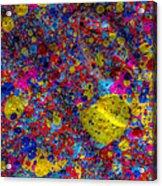 Candy Colored Blast Acrylic Print