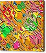 Candy - Lolly Pop Abstract  Acrylic Print