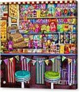 Candy Shop Acrylic Print
