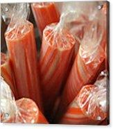Candy Sticks Acrylic Print