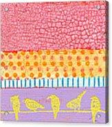 Candy Stripes Acrylic Print