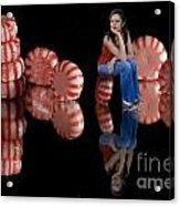 Candylane Acrylic Print