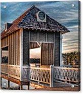 Canebrake Boat House Acrylic Print by Brenda Bryant