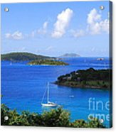 Caneel Bay In St. John In The U. S. Virgin Islands Acrylic Print