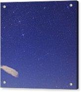 Canis Major Over Death Valley, Usa Acrylic Print