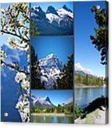 Canmore Alberta Acrylic Print