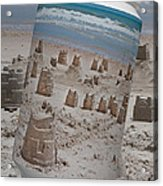Canned Castles Acrylic Print
