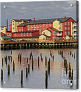 Cannery Pier Hotel Acrylic Print