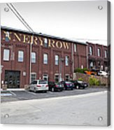 Cannery Row Acrylic Print
