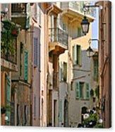 Cannes - Le Suquet - France Acrylic Print