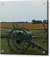 Cannon At Gettysburg Acrylic Print