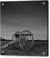 Cannon At Henry Hill Acrylic Print