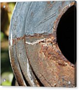 Cannon Barrel Fountain Of Youth Acrylic Print by Christine Till