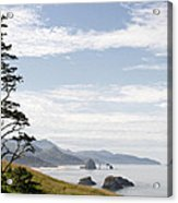 Cannon Beach At Ecola State Park Acrylic Print