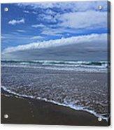 Cannon Beach Surf And Storm Acrylic Print