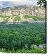 Cannon Cliff - Franconia Notch State Park New Hampshire Usa  Acrylic Print