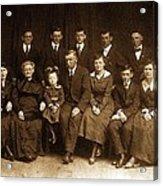 Cannon Family Portrait Circa 1912 Acrylic Print