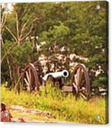 Cannon On Culps Hill Acrylic Print