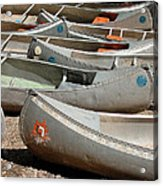 Canoes 143 Acrylic Print
