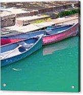 Canoes 3 Acrylic Print